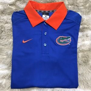 NIKE DRIFIT FLORIDA GATORS POLO